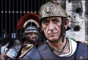 La Roma tiene a battesimo il film sui Gladiatori