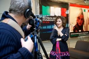 Valeria Golino a Mosca