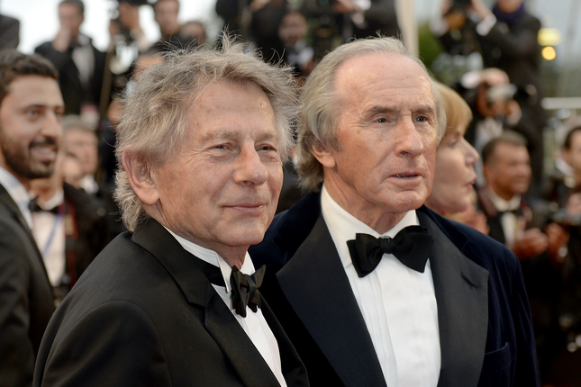 Jackie Stewart and Roman Polanski - Red carpet - Weekend of a Champion