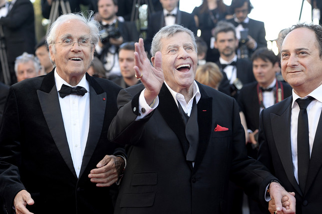 Michel LegrandJerry Lewis and Kevin Pollak