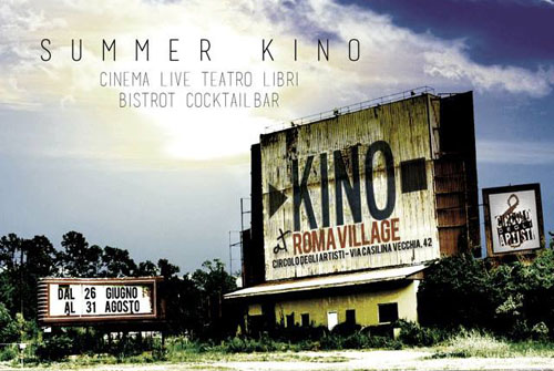 Summer Kino. Cinema sotto le stelle a Roma