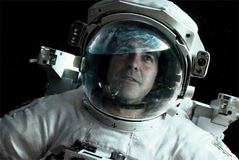 Gravity: Clooney cowboy spaziale per Cuaron