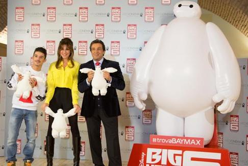 Big Hero 6: Insinna, spero in un Baymax nella vita reale