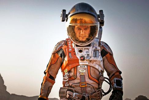 """Matt Damon nelle prime immagini di """"The Martian"""""""