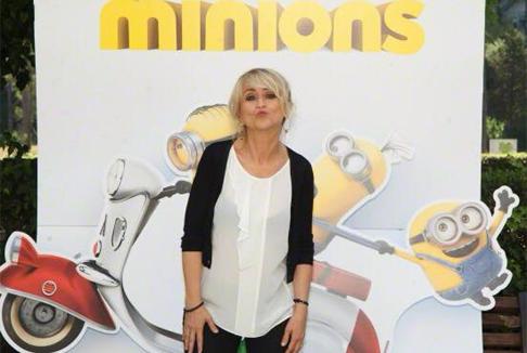 """Luciana Littizzetto, super cattiva in """"Minions"""""""