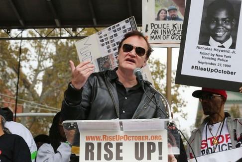 La polizia di New York contro Quentin Tarantino