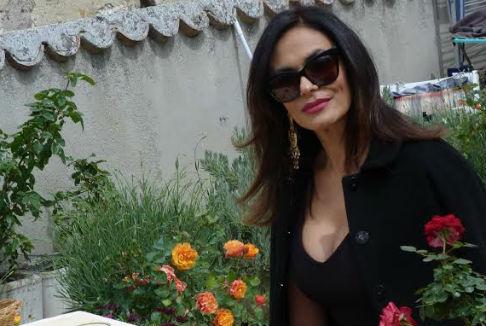 Maria Grazia Cucinotta nel corto 'Timballo'