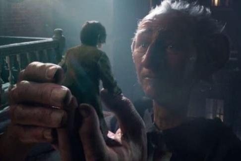 Il GGG – Il Grande Gigante Gentile: il trailer in italiano