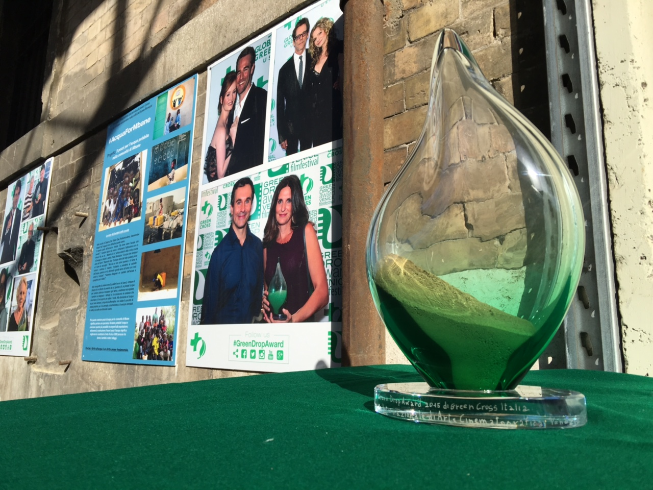 Green Drop Award 2016: il 'green carpet' torna a Venezia