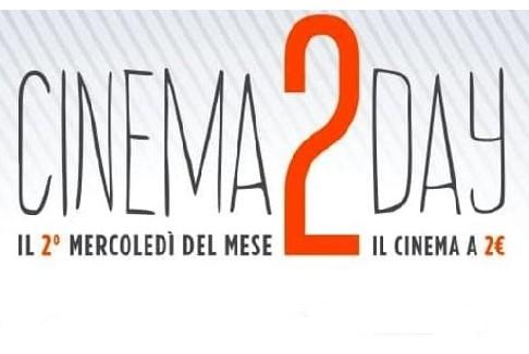 Cinema2Day: dal 14 settembre al cinema a 2 euro