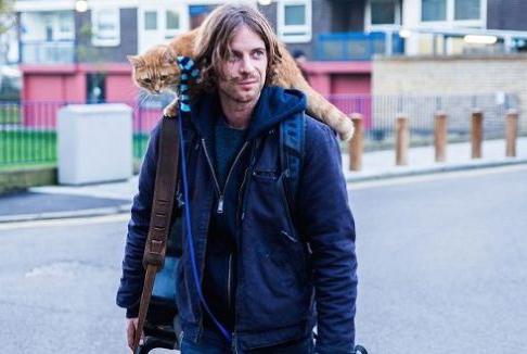 A spasso con Bob: cambiare vita grazie ad un gatto