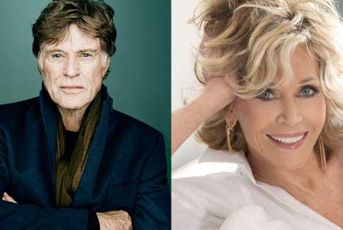 Venezia 74.: Leone alla carriera a Jane Fonda e Robert Redford