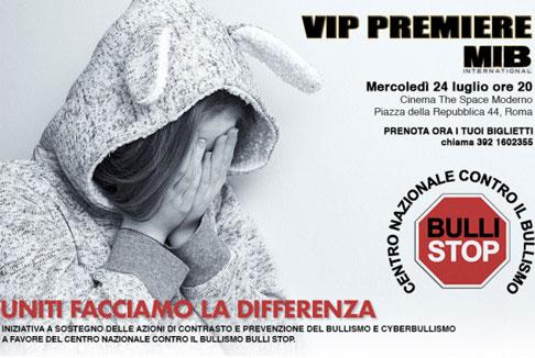 Vip Premiere per Men in Black a Roma